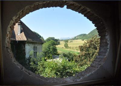 chateau fenetre