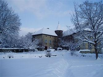 chateau hiver
